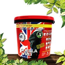 Gorilla Wipes GW1012 BULK Bucket Tub of 250