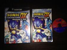 Sonic Adventure DX De Luxe Gamecube Game Cube PAL