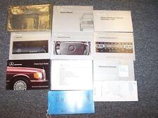 1990 Mercedes Benz 300E 300CE 4Matic 2.6 Owner Operator Guide Manual Set 2.6L