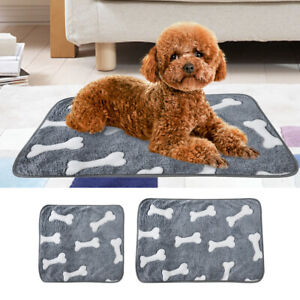 Pet Washable Home Blanket Cat Dog Bed Cushion Mattress Kennel Soft Mat Bed
