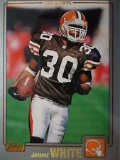 NFL 206 Jamel White Cleveland Browns Topps 2001