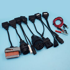 8Pcs OBD OBDII Cable For CDP TCS HD Pro Car Diagnostic Interface Scanner Kit New