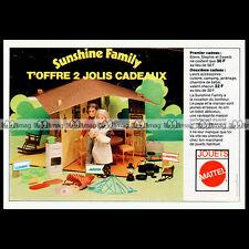 Mattel SUNSHINE FAMILY Poupée-Mannequin Doll 70's Pub Publicité Advert Ad #B522