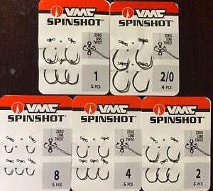 VMC SS Spinshot Drop Shot Hook - Choose Size Fedex Read