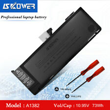 """SKOWER A1382 Laptop Battery For Apple Macbook Pro 15"""" A1286 2011 2012 Series"""