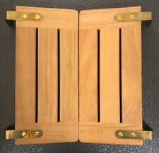 BARLOW TYRIE SAFARI TEAK CHAIR CLIP-ON TRAY NEW OLD STOCK