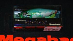 "WOW! Megabass POP MAX 2021 ""KABUKI HISUI"" (SP-C) Color  FREE SHIPPING"