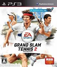 Used PS3  Grand Slam Tennis 2  SONY PLAYSTATION 3 JAPAN JAPANESE IMPORT