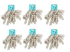 BABY BOY GIRL NASTRO GROSGRAIN Blu Rosa Craft regalo avvolgimento TORTE 10mm nuovi nati