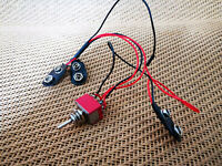 9V x 2 to 18V Battery Power Switching Guitar Pedal Effect DIY Wiring Harness