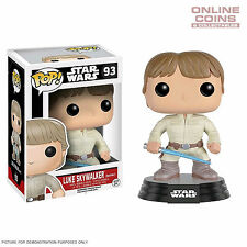 STAR WARS - LUKE SKYWALKER BESPIN WITH LIGHTSABER - FUNKO POP VINYL FIGURE BNIB