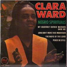 "CLARA WARD ""THE WAYS OF THE LORD"" GOSPEL SOUL FRENCH 60'S EP DOT 34013"