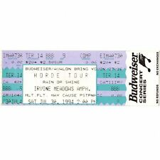 THE ALLMAN BROTHERS BAND Full Concert Ticket Stub IRVINE CA 7/30/94 MEADOWS Rare