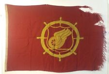 Rare WWII Theatre Used United State Army Transportation Corps 4x6 Annin Flag