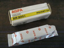 Sealed 1 Roll AGFA XR 200i C41 Pocket 24 Color Print Film Exp 09/90 Free Ship