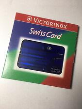 NEU Victorinox Swiss Card Multifunktionswerkzeug 9 Teilig