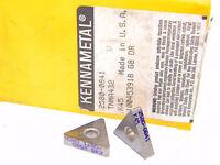 NEW SURPLUS 5PCS. KENNAMETAL  TNMA 432  GRADE: K45  CARBIDE INSERTS