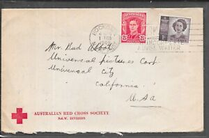 AUSTRALIA RED CROSS APPEAL 1949 FROM ROCKDALE TO USA