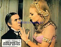 JAMES BOND CASINO ROYALE ORIG GERMAN LOBBY SEXY JOANNA PETTET & RONNIE CORBETT