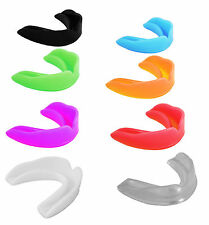 10 x Boxing, MMA Rugby, Mouth Guard/Gum Shield Teeth Protection Assorted Colour