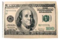 """12x18 12""""x18"""" Money $ 100 Dollars Benjamin Sleeve Flag Boat Car Garden"""