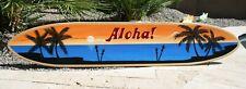 Surfboard wall art, tiki bar sign, tiki surfboard, personalized surfboard