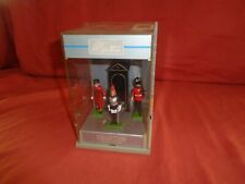 Britains The London Scene, Lead Beefeater, Sentry Box, &  Guard, display case