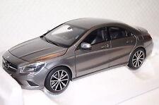 Mercedes CLA 220 grau metallic 2013 1:18 Norev neu & OVP 183597