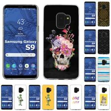 Thin Gel Design Protective Phone Case Cover for Samsung Galaxy S9,Skull Print