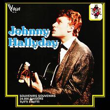CD Johnny Hallyday - (V-King / Vogue Made In Belgique)