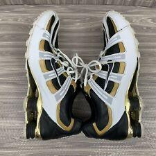 Nike Shox Turbo Metallic Liquid Gold Size 11 Tennis Shoes 311821-002