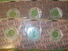 """MICHAEL JACKSON """"Rock With You"""" """" Off The Wall""""  Lot 6 Vinyl 45s RE3899"""