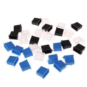 10 Pcs Nouveau USB Type A Mâle Anti-Poussière Bouchon Capuchon Couvercle Prote