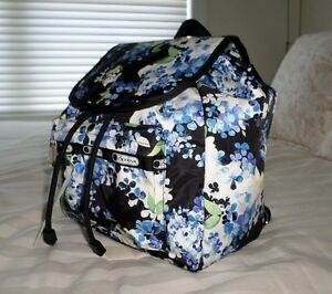 NWT LeSportsac Small EDIE Backpack 9808 D746 * Flower Cluster *