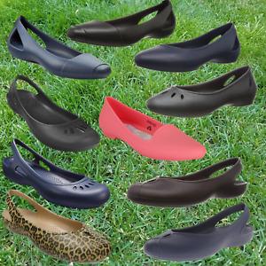 NWT CROCS Women's Flats SELECT SIZE & MODEL (Thea, Laura, Eve, Kelli, Olivia)
