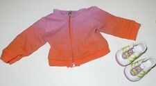 AMERICAN GIRL DOLL MCKENNA WARM UP JACKET & SHOES  2012 RETIRED