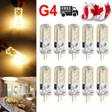 10X G4 1.5W 24LED SMD Capsule Corn Light Bulb Replace Halogen 12V Warm White CA