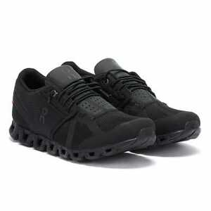 On Running The Cloud Mens All Black Trainers