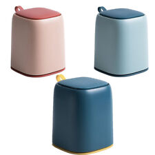 Waste Bin Desktop Garbage Basket Home Table Plastic Office Supplies Trash Can