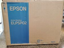 NEW Epson ELPSP02 Active Speakers 30W Power - for projectors