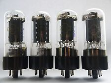 6P3S - 6L6 - 6L6GT Matched/Selected QUAD Silver Grid NEW NOS STRONG