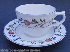 Nikko Avondale Cup and Saucer Provincial Designs Japan Flat Teacup Tea