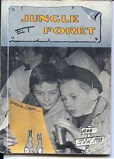 Revue Jungle et Forêt n°86 Juin 1988 - Louveteaux - Scouts Unitaires de France