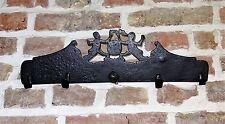 flandre - superbe archelle à décor - porte ustensiles 18ème en fer forgé