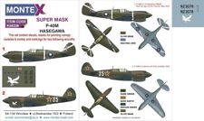 Montex Super Mask 1:48 P-40 M Kittyhawk for Hasegawa Spraying Stencil #K48338
