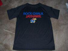 Mens Ku Jayhawks Athletic Style Shirt Size Medium