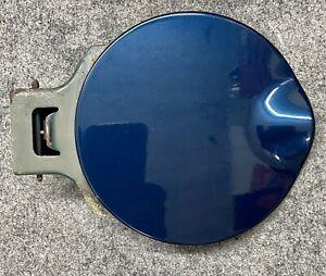 02-09 Chevy Trailblazer GMC Envoy Fuel Filler Lid Gas Door  Blue 2002 - 2009