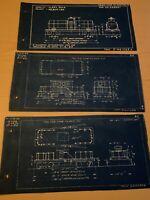 Pennsylvania Railroad Train Tank Car TM12 & Poling Car Blueprints Class S-5 SC