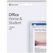 Microsoft Office Home and Student 2019 Application Software (79G-05142)