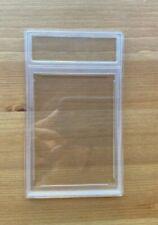 New blank empty professional plastic unsealed Graded Card Slab holder case